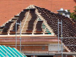 Dachdecker in Herne, Westfalen